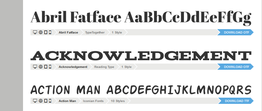 Web Safe Fonts – Consistent CSS Font Family