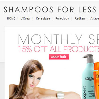 Shampoos for Less