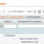 Move Magento Database Sales, Customers & Invoices